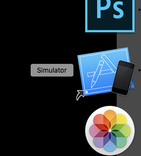 Check the operation of Elementor using the iOS simulator